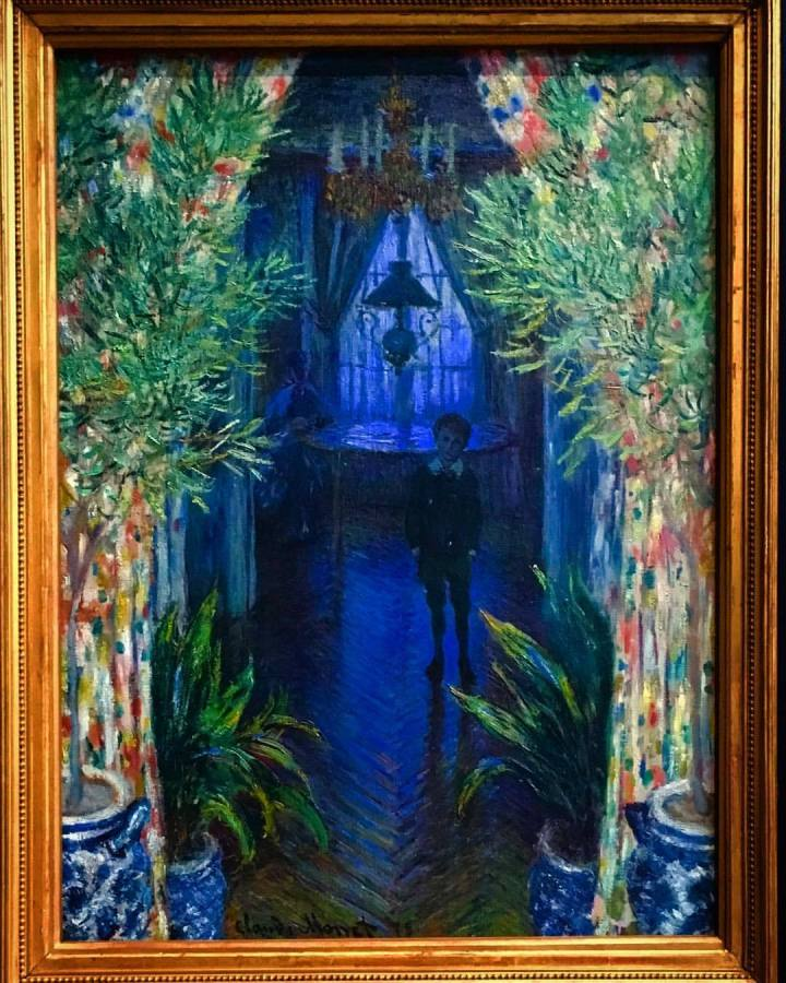 imp 2 un coin d'appartement Claude Monet